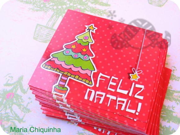 50 Cards de Natal - lembran�as/presentes