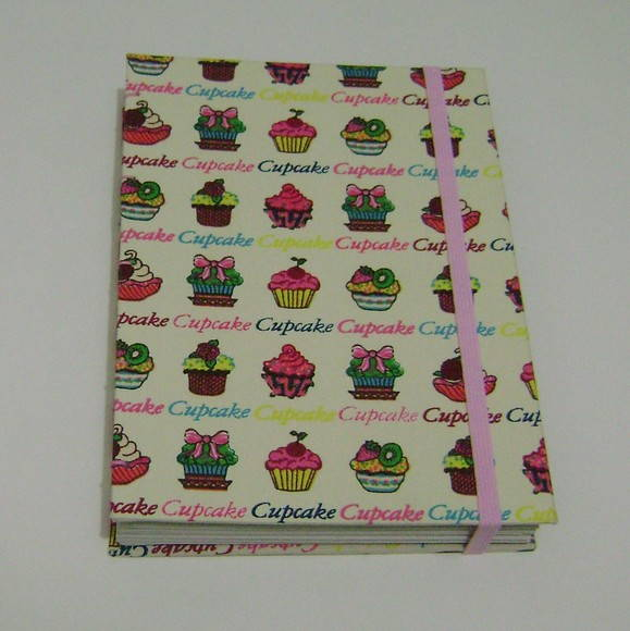Caderno cupcake