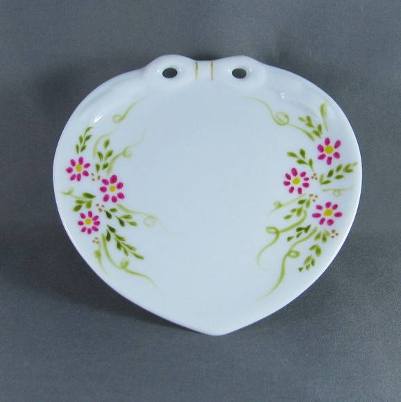 PORTA ALIAN�AS PORCELANA  - FLORAL