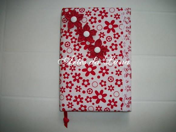 Caderno Encapado com Tecido