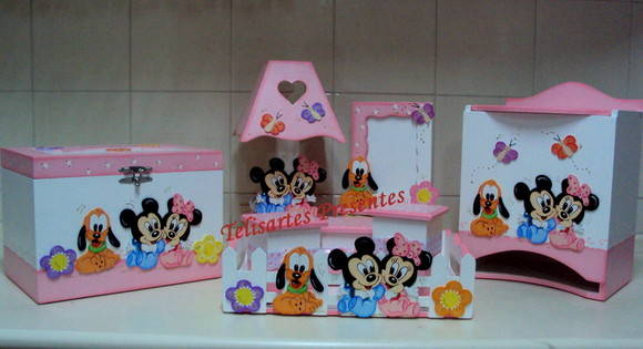 Kit beb� Baby Disney