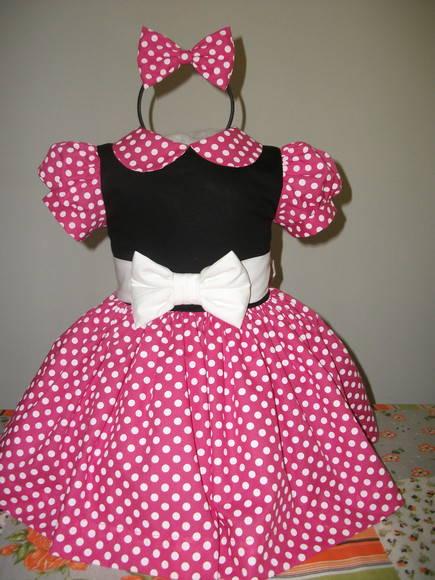 Lindo Vestido Da Minnie CDG  3223