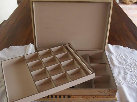 Caixa para bijouterias/bijouteria