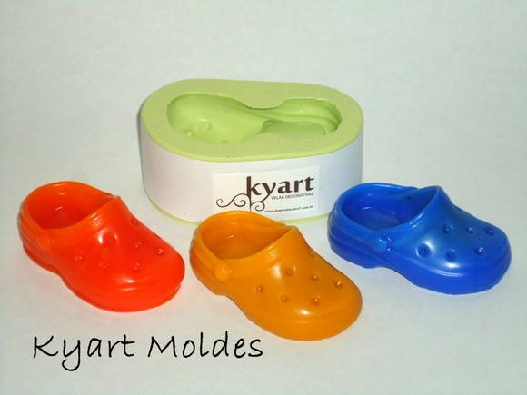 Molde silicone Crocks