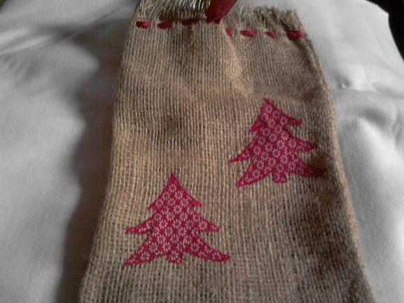 Saquinhos para presentes de Natal