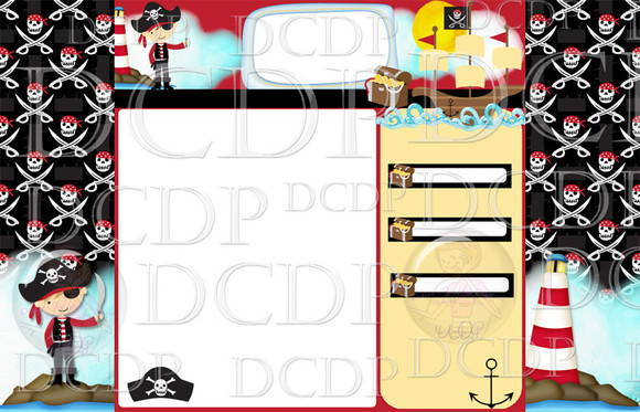 Template Blog Piratas