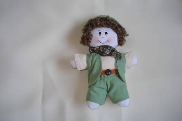 Lembrancinha boneco safari
