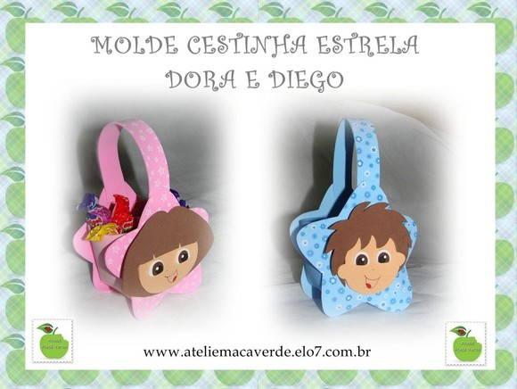 Material > EVA > Apostila > MOLDE/RISCO CESTINHA ESTRELA DORA DIEGO