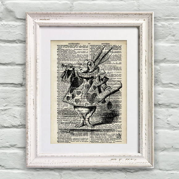 Poster P�gina de Dicion�rio Alice