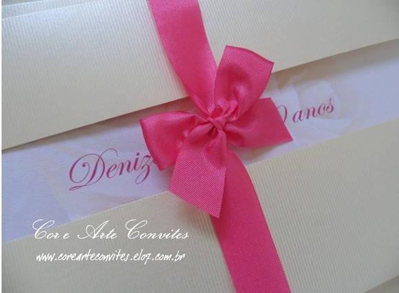 Convite Aniversario 70 Anos Feminino Convite Rosas 70 Anos | Cor e