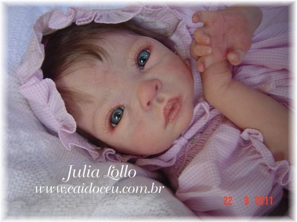 Boneca beb� reborn by Julia Lollo