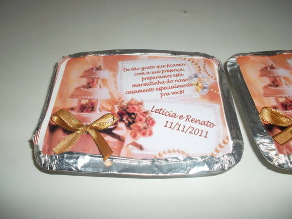 Mini marmitas especiais para casamento