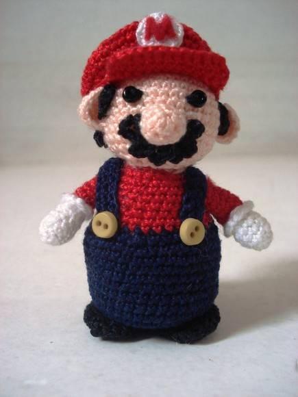 Amigurumi Mario Bros Para?so de Eva Elo7