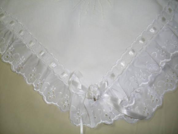 Manta para Bebê Bordada em piquet | Nananeném | 1913E1 - Elo7
