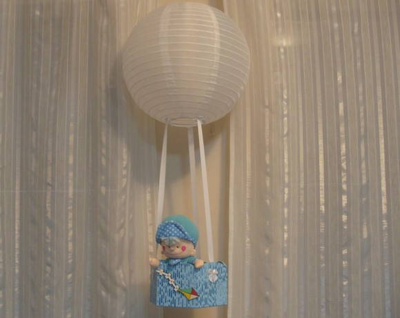 Lumin�ria Infantil - Tema bal�o