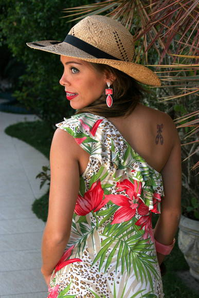 Vestido Pin-Up Tropical