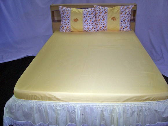 Kit de cama Casal- 4 peas