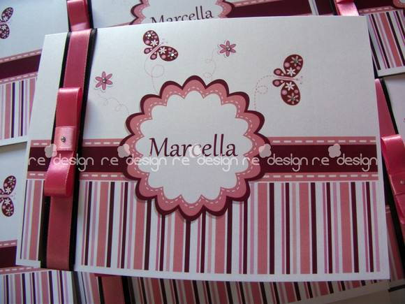 Convites de 15 anos - Marcella
