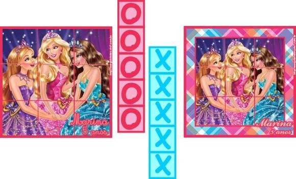 Barbie Escola De Princesas Jogo Da Velha