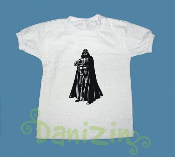T-Shirt Beb� e Infantil DARTH VAIDER