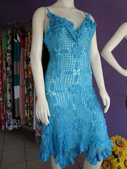 Vestido de croch�
