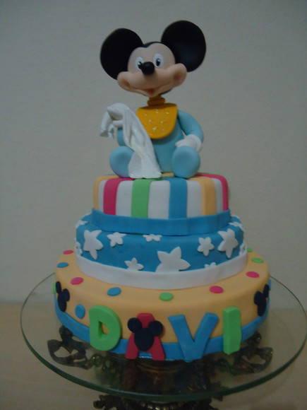 Bolos do Mickey bebé - Imagui