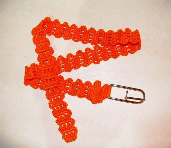 Cinto em crochet | Tita Carré | Elo7: www.elo7.com.br/cinto-em-crochet/dp/1B16E8