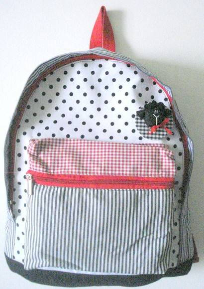 Mochila Patchwork Xadrez