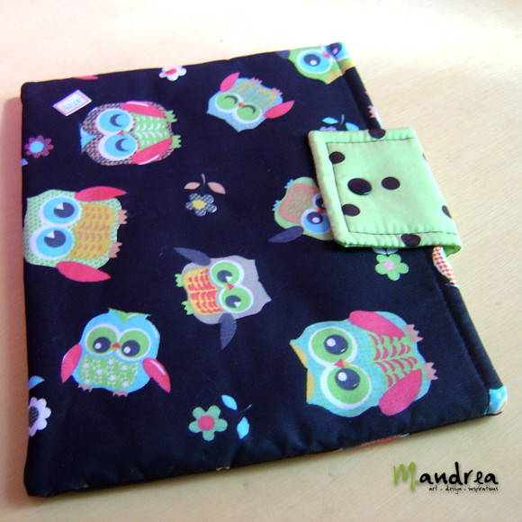 Case para ipad - corujinha