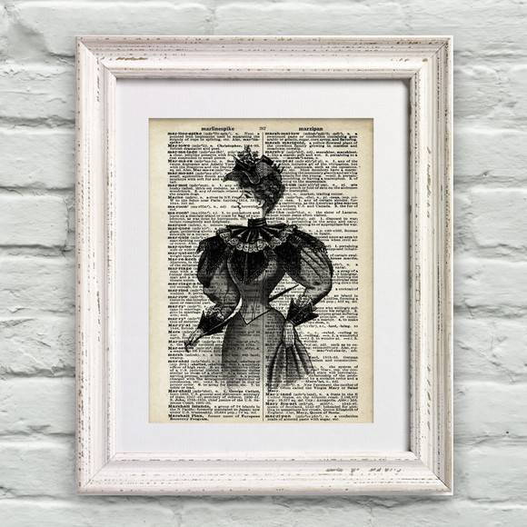 Poster P�gina de Dicion�rio Lady