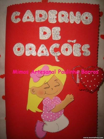 CADERNO DE ORA��ES