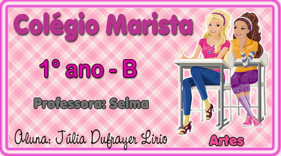 Etiqueta Material Escolar &quot;barbie&quot;