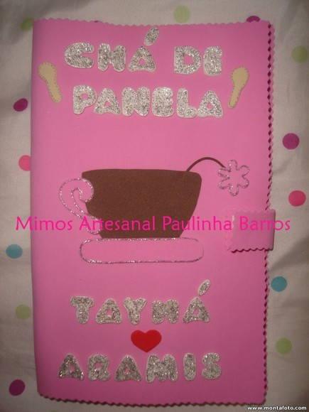 Caderno ch� de panela