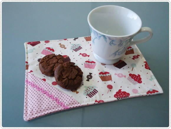 Mug Rug cupcakes