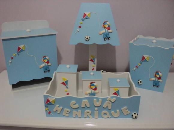 Kit Higiene Bebê Pipa  Ana Paula Artes  Elo7