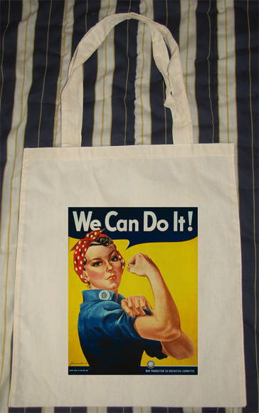 "Ecobag Retr� ""We Can Do It!"""