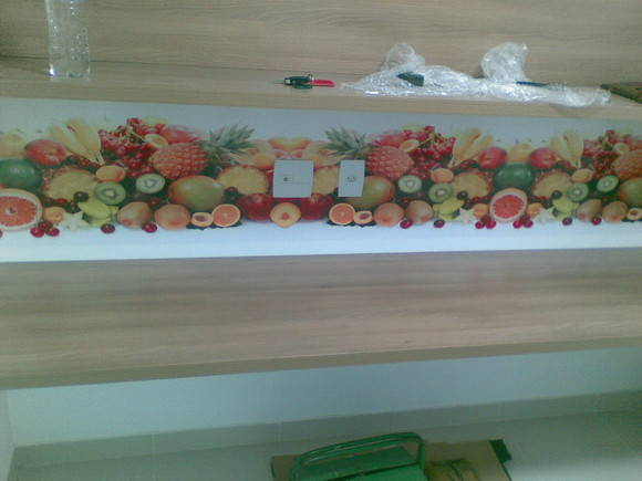 Painel Decorativo Adesivo - Frutas 1