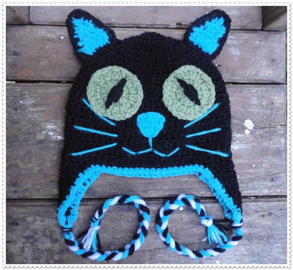 Touca de Croch� Gato