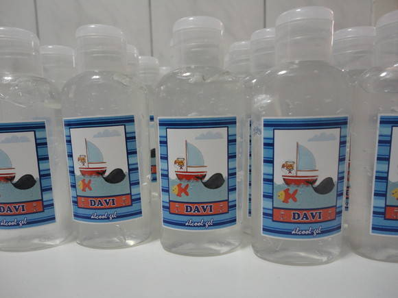 Alcool gel personalizado - 60ml