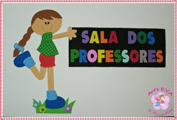 Decoracao Sala Dos Professores ~ placa de porta sala dos professores decoracao sala de aula jpg Car
