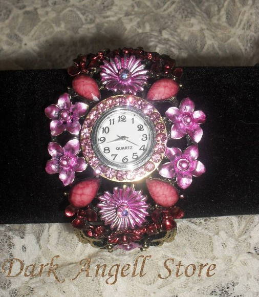 Rel�gio Bracelete Rose Fairy Time ~