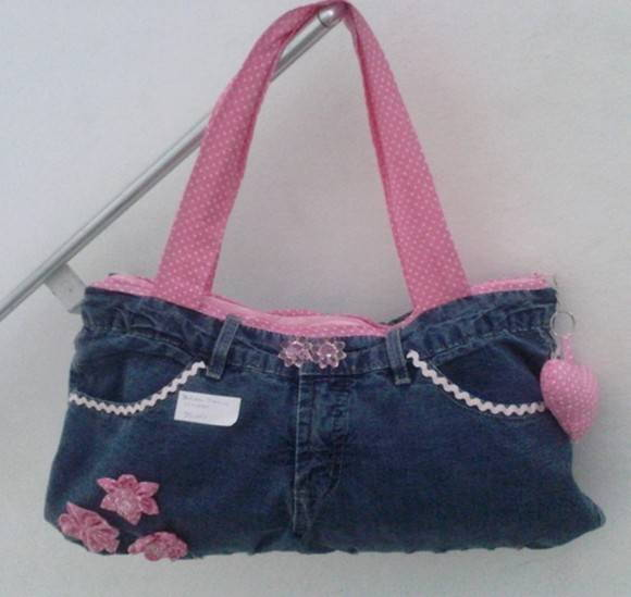 Bolsa Customizada Cal  A Jeans