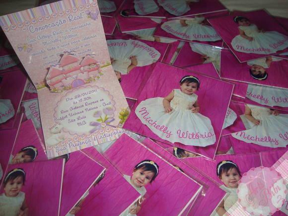 Convite Princesas PopUp