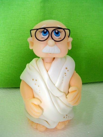 Gandhi - 11 cm de altura