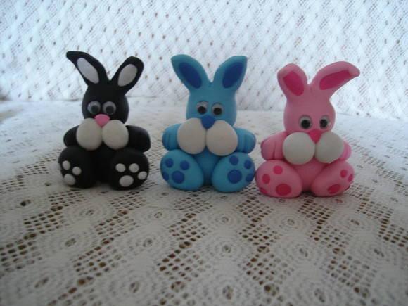 coelho colorido