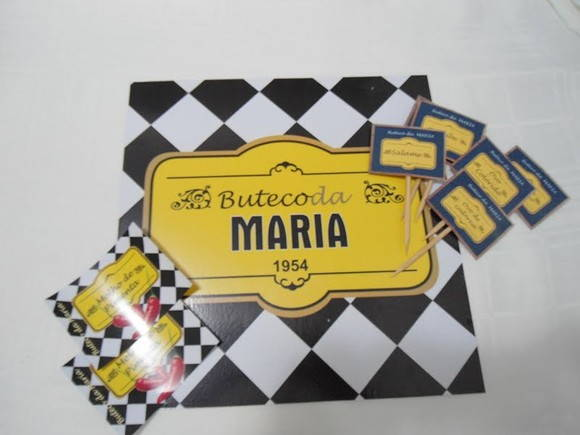 decoracao festa boteco personalizada:Cha Bar Boteco01