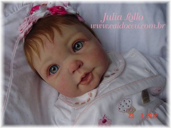 Boneca beb� reborn Amalia by Julia Lollo
