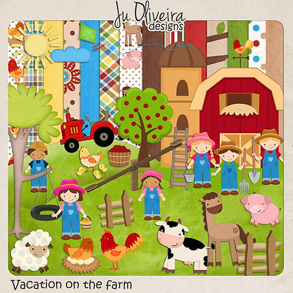 Vacation on the farm (F�rias na fazenda)