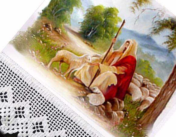 Pano de Copa Jesus o Bom Pastor