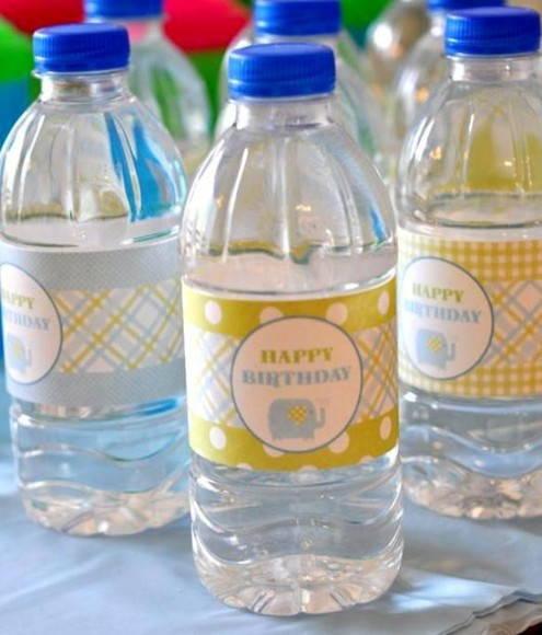 Aguas personalizadas 1 aninho Fred
